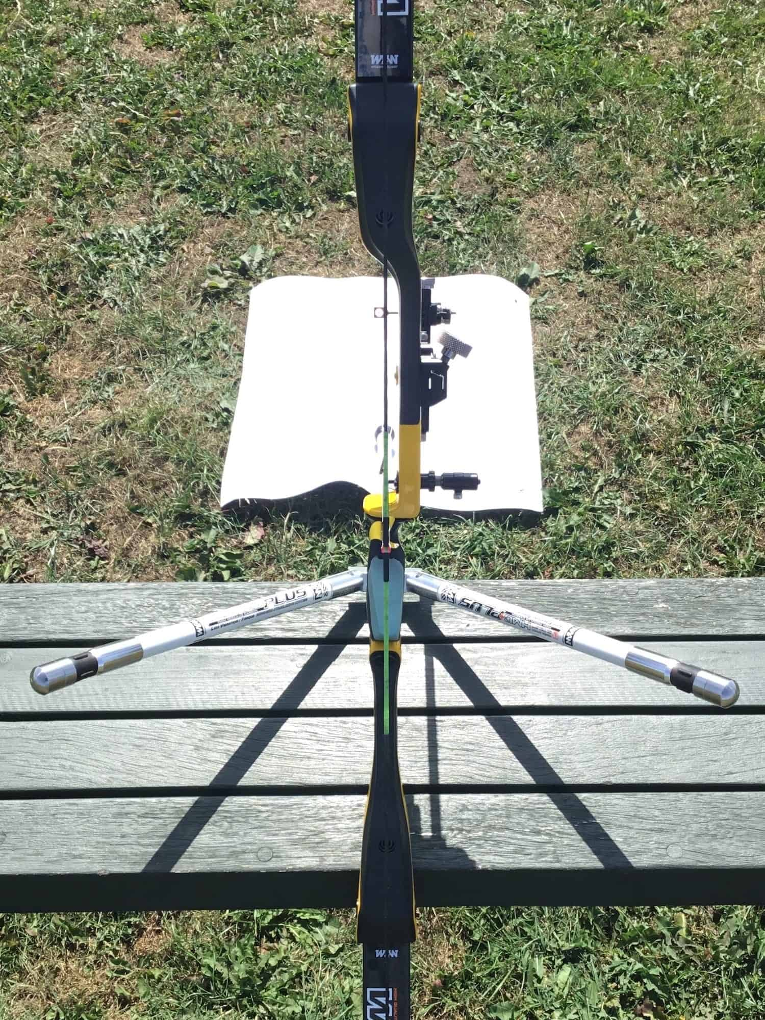 Recurve limb alignment check with the W&W TFT riser