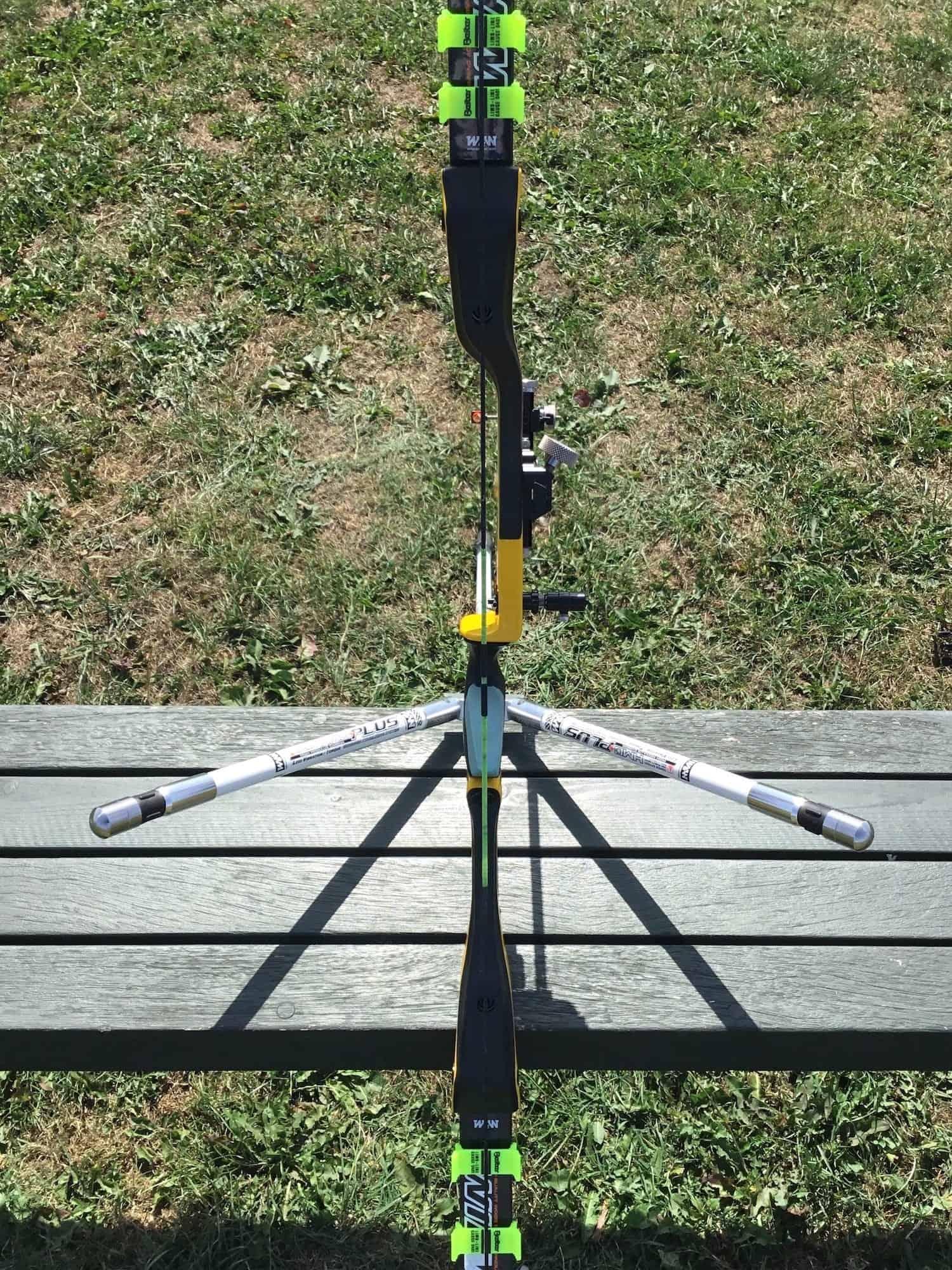 Good recurve limb alignment with a W&W TFT riser