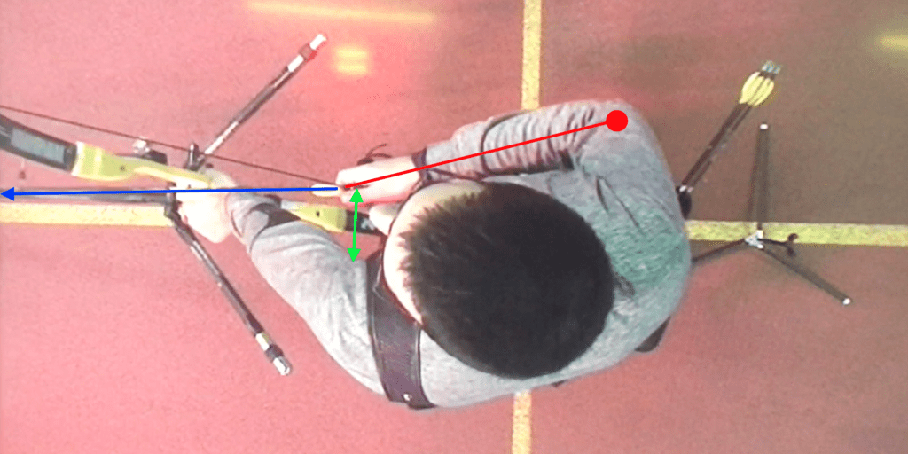 recurve set position draw hand wrist alignment and hook
